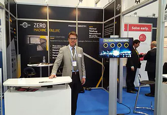 Precognize showing off at Hannover Messe