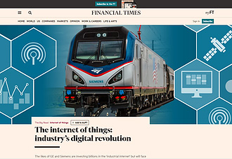 Financial Times: The internet of things: industry's digital revolution