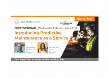 Webinar: Introducing Predictive Maintenance as a Service – Lessons Learned from Dozens of PdM Implementations