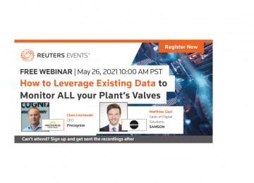 Webinar: How to Leverage Existing Data to Monitor ALL your Plant's Valves